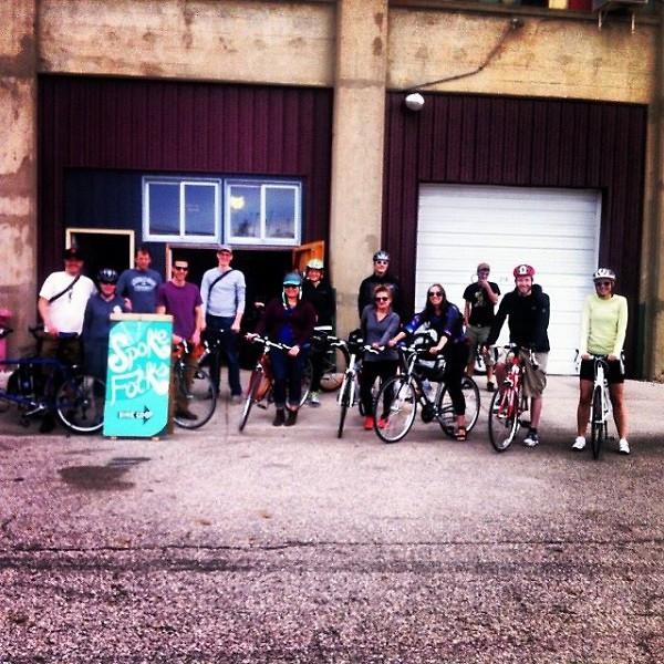 Spoke Folks Group Ride