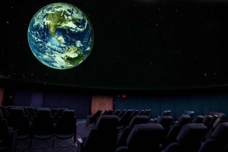 The planetarium at the Grand Rapids Public Museum