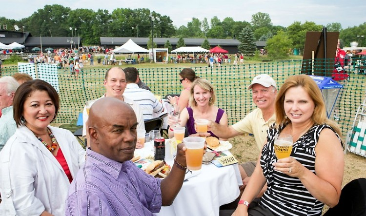 Grand Rapids Symphony's Picnic Pops at Cannonsburg Ski Area draws an average of 3,500 people to each concert.