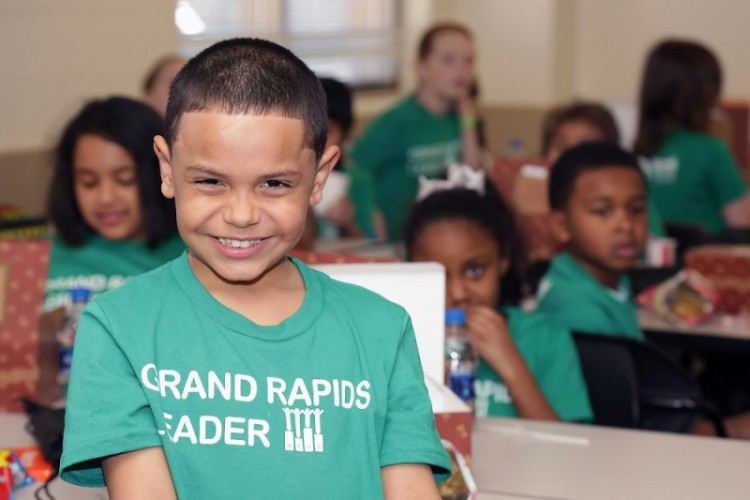 Summit encourages local children like Elvin Corporan to be Grand Rapids leaders