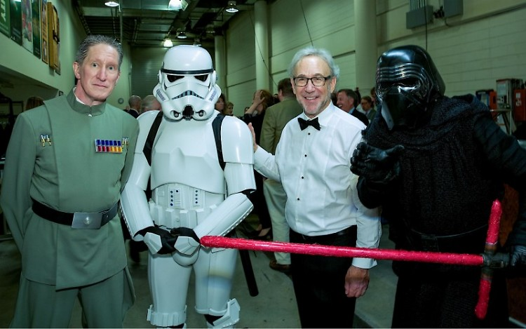 Conductor Bob Bernhardt (third from left) leads the Grand Rapids Pops in 'Star Wars, Star Trek, Middle Earth and More!'