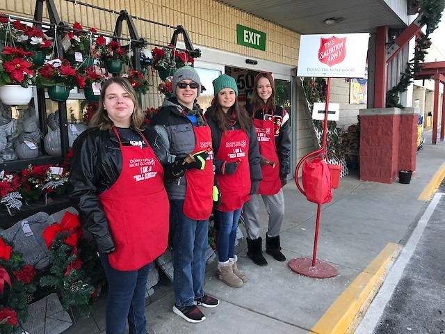 Bell ringers will be needed this Christmas season