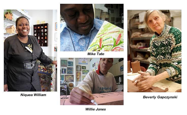 <center><strong><em>A Few of the Heartside Artists</em></strong></center>