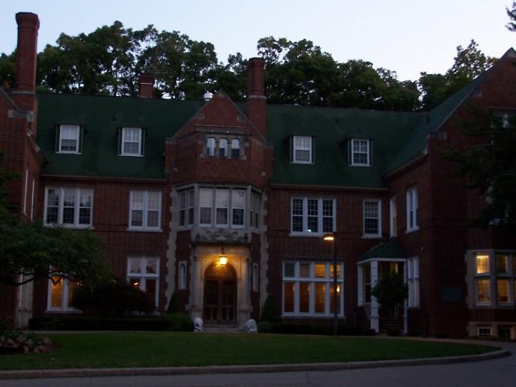 Holmdene Manor on the campus of Aquinas College