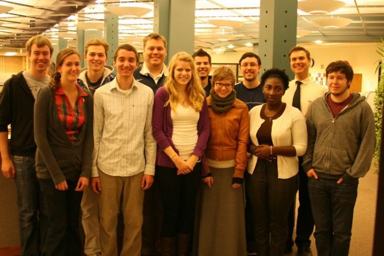 Calvin College student journalists