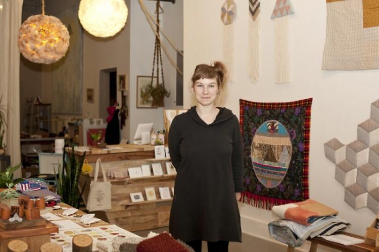 Marlee Grace, shop owner