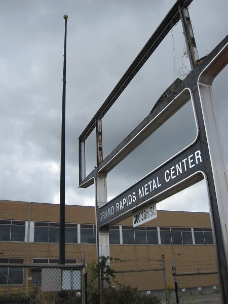 The GM Metal Fabrication Plant has been purchased by Lormax Stern Development and is slated for demolition this year.