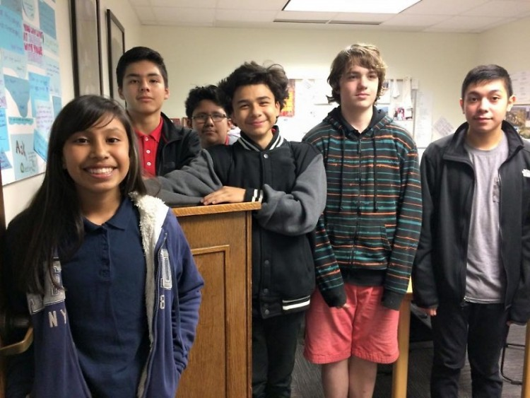 The Harrison Park debate team gives students grades 6-8 a chance to learn skills for discussing different perspectives