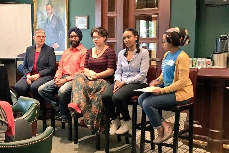 Shuji Valdene Mintzmyer, Rishi Makkar, E Earl, Mai Nour,  and Amina Mohamed