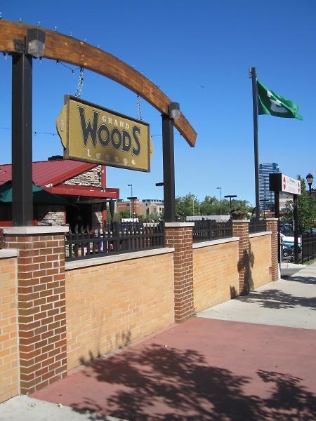 Grand Woods gate