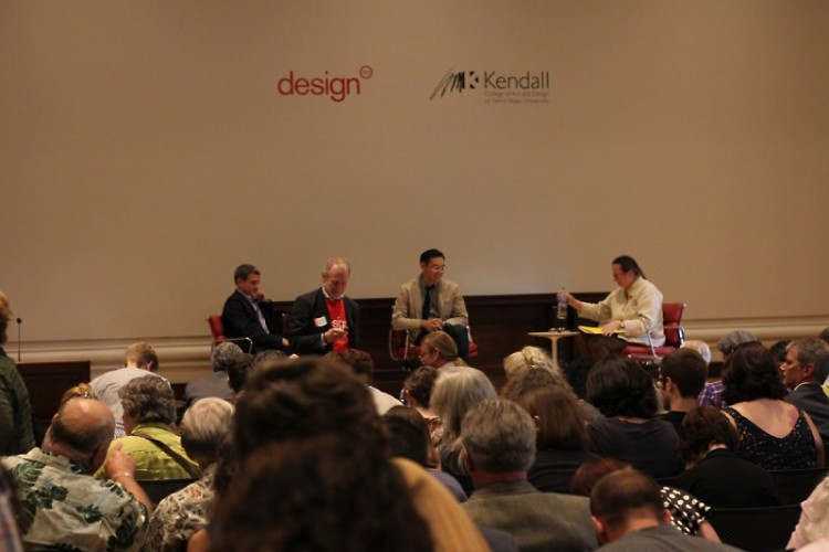 The panel at Design West Michigan.
