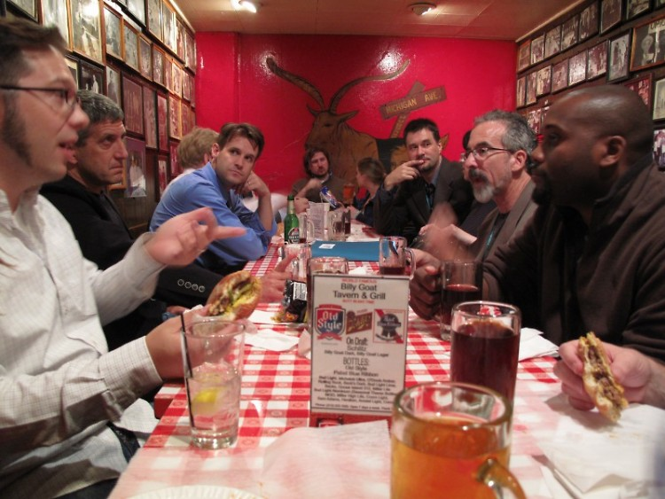 Billy Goat Tavern, Chicago Tribune staffers' and other news folks' watering hole of choice since 1934.