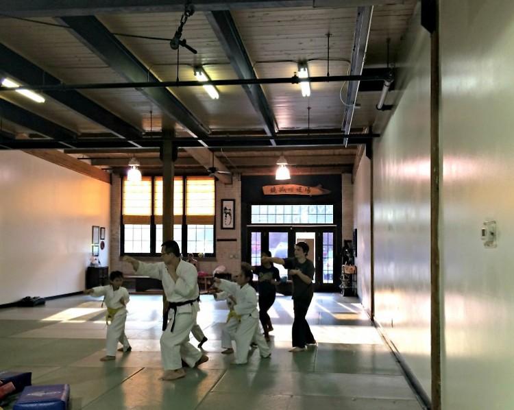 Shen Dojo youth aikido class