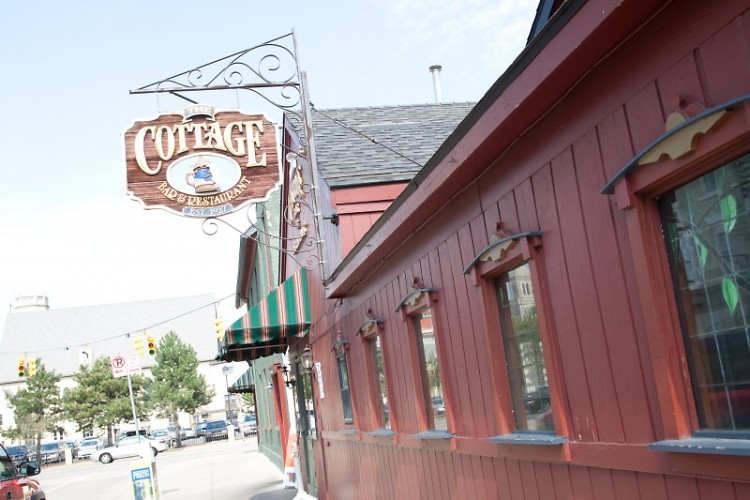 The Cottage Bar has one of the best burgers in town and possibly the state.