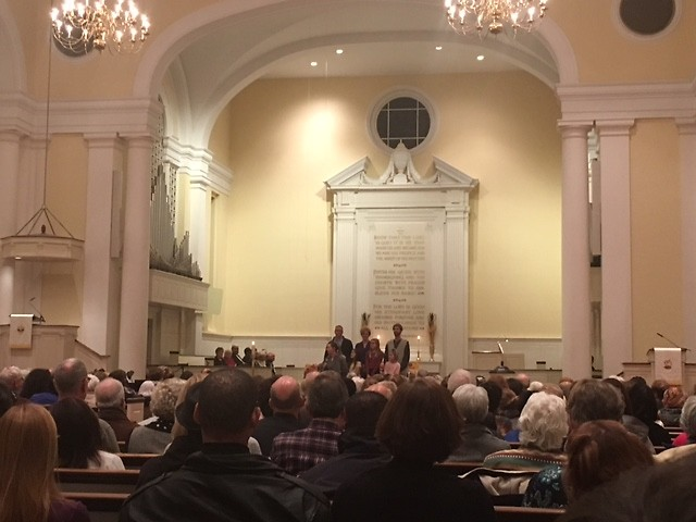 The Community Interfaith Thanksgiving Celebration took place at Central Reformed Church in Grand Rapids on November 21, 2016.