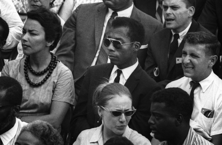James Baldwin in I AM NOT YOUR NEGRO, a Magnolia Pictures release.