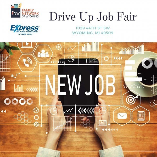 Drive Up Job Fair Taking Place Soon