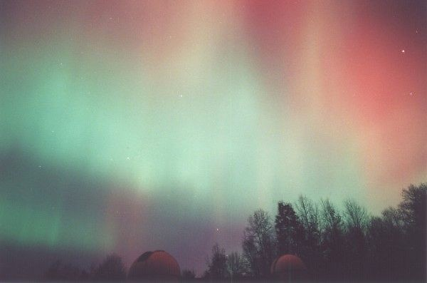 Aurora Borealis at the Veen Observatory
