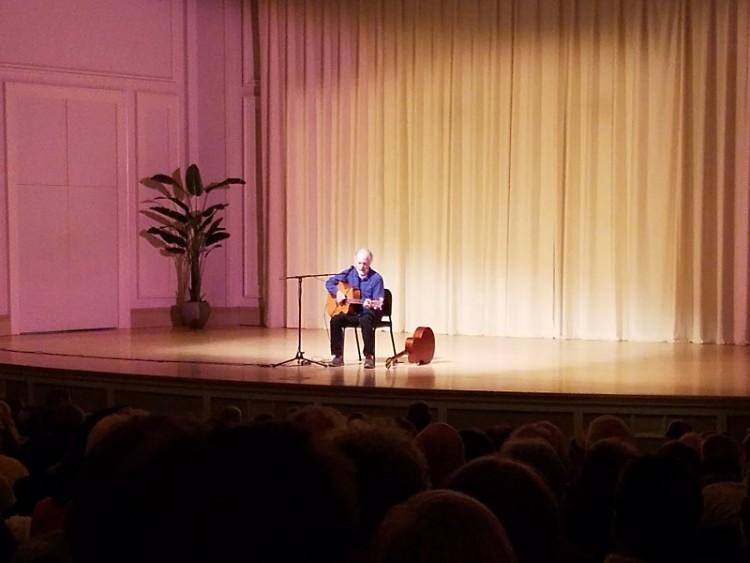 Leo Kottke at St. Ceclia Music Society Thursday evening