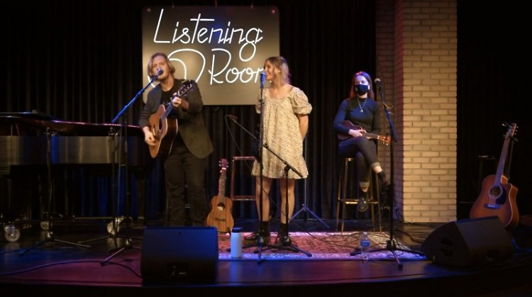 Political Lizard performing at Listening Room on Wednesday as part of Spread the Music Festival 2021.