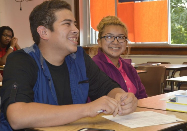 Josue Centeno and Ashley Barrera of Innovation Central are active in Michigan Youth in Government