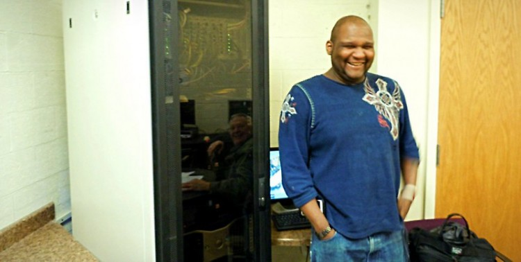 Currently living at Guiding Light Mission, Napolean Frazier hopes to find work as a computer systems engineer.