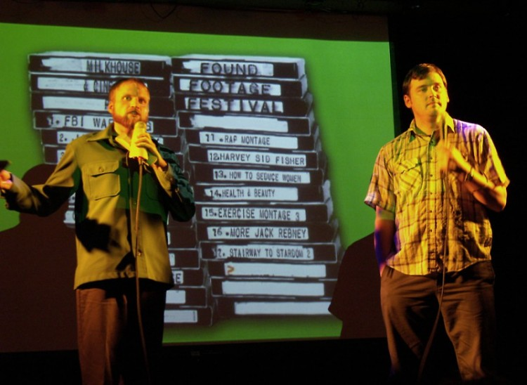 Found Footage Festival hosts Nick Prueher and Joe Pickett