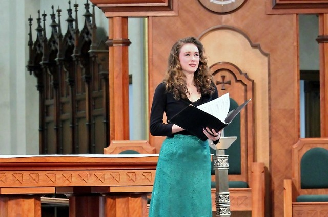 Soprano Nola Richardson is the winner of the Grand Rapids Bach Festival's inaugural $10,000 Keller Award