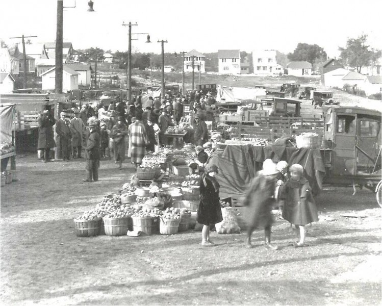 Our goodness is certainly growing: this photo of an early FSFM scene shows just how much