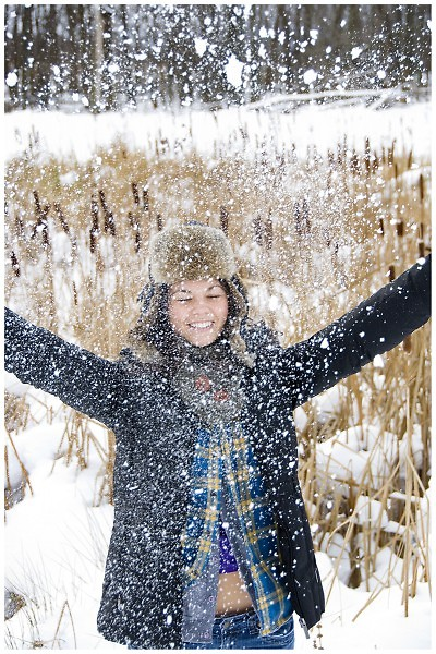 Choose to love the snow!