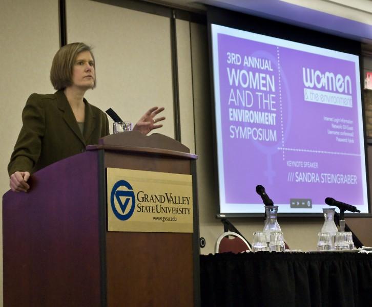 Sandra Steingraber during her keynote address