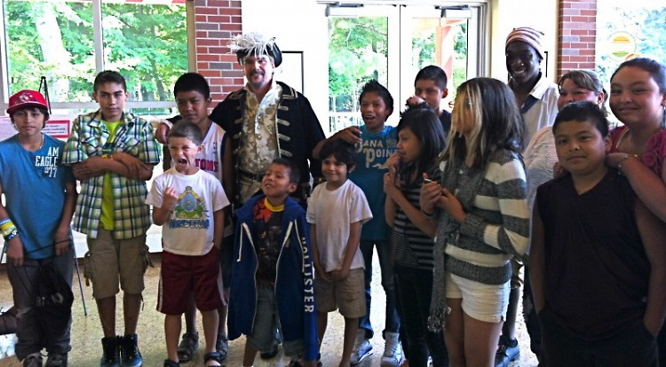 "The GAAH Press Club meets the actors of ""Treasure Island"""