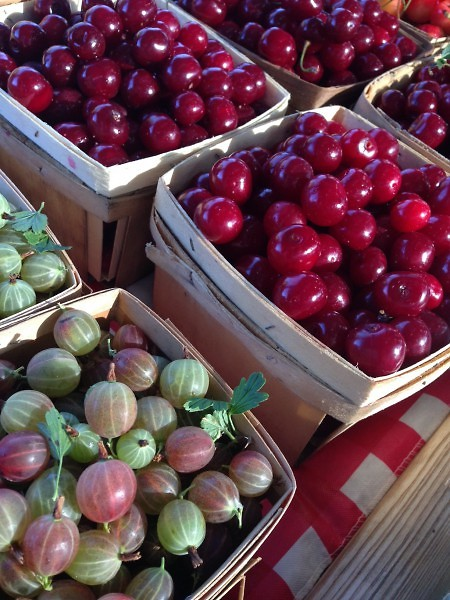 Gooseberries &Tart Cherries