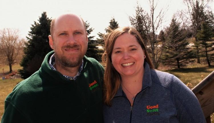 Steve and Corey Veldheer, co-owners of Good Sweet Earth