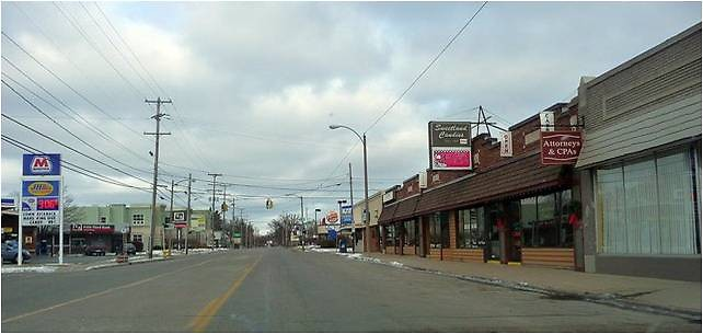 Plainfield Avenue in the North Quarter