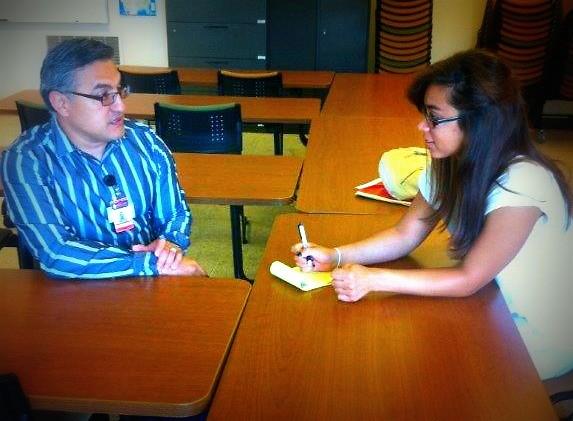 Mario Alfaro Youth Advocate at The Hispanic Center