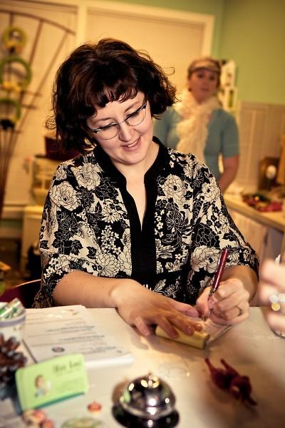 "Angie Seabert, ""Retail Therapist'"