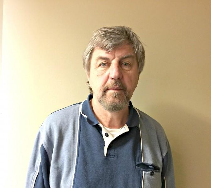 Richard McDonald, a Veteran that works at Community Rebuilders,E5 Coast Guard & National Guard