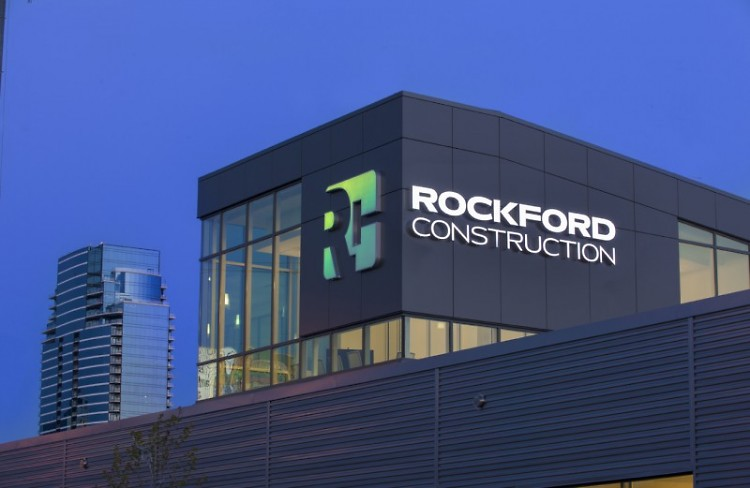 Rockford Construction's new headquarters at 601 1st St. NW