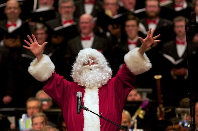 Santa Claus himself is expected to pay a visit to the Grand Rapids Symphony's Wolverine Worldwide Holiday Pops.
