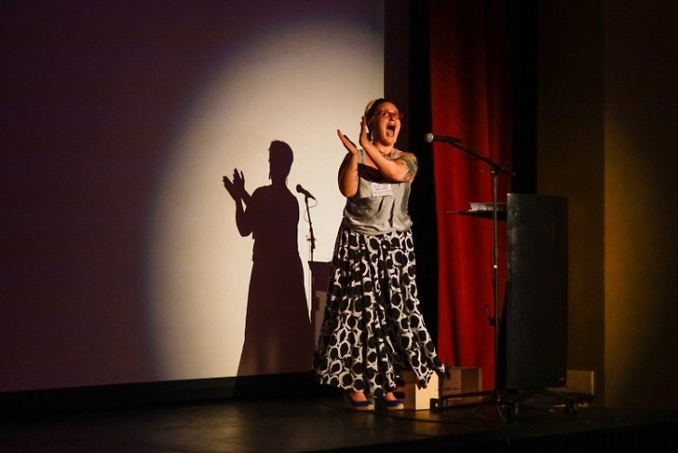 Local artist, performer, and CYC board member Sarah Jean Anderson will emcee the event