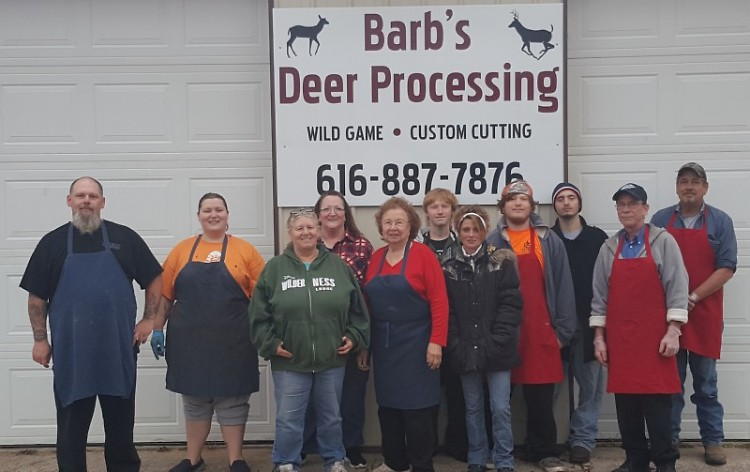 Barb's Deer Processing in Comstock Park is a family business.