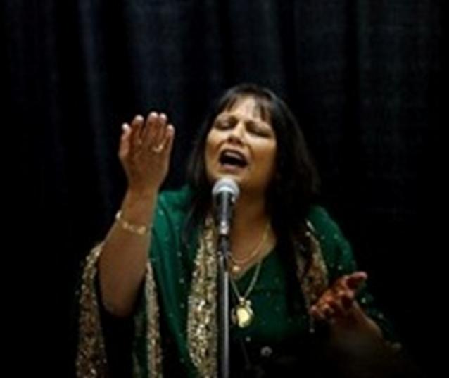 Shabnam Merali, Qawwālī & Ghazal singer, Ginan and Qasida reciter, radio-host and poet.