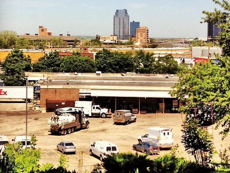 The Grand Rapids skyline from the Black Hills neighborhood