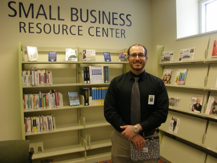 Steven Assarian, Business Librarian at GRPL's Small Business Resource Center