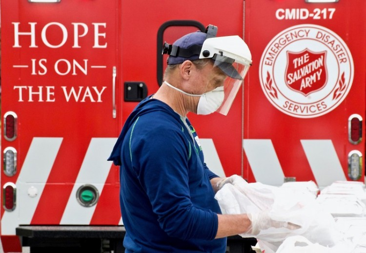 The Army's Emergency Disaster Services responds with COVID relief efforts.