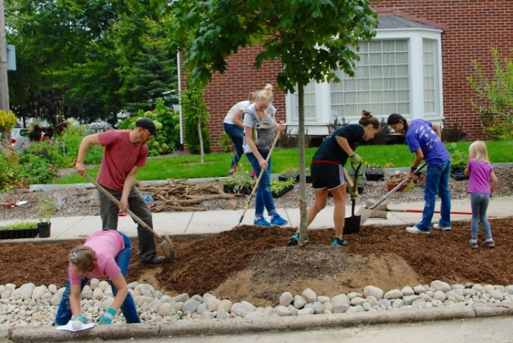 Plaster Creek Stewards and community building stormwater management