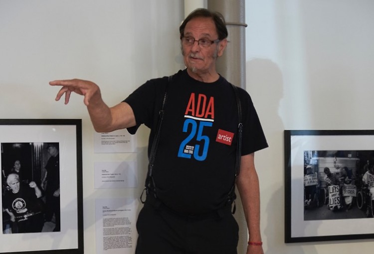 Tom Olin, Director and Photographer at the Disability Rights Center, speaks about his exhibition of photographs at (106) Gallery