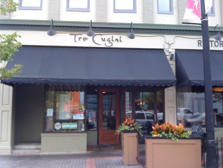 Tre Cugini is known for its delicious, authentic Italian cuisine.