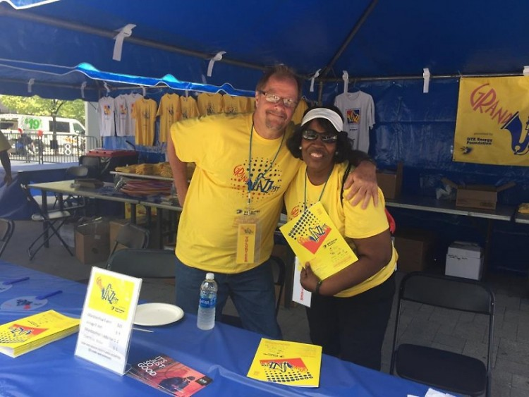 Volunteers at GRandJazzFest